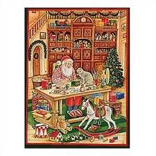 <strong>Alexander Taron</strong> Large Santa Workshop Advent Calendar