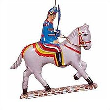 <strong>Alexander Taron</strong> Tin Solider and Horse Ornament