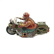 Tin Old Style Motorcycle Toy