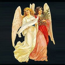 <strong>Alexander Taron</strong> Standing Two Angels Cards