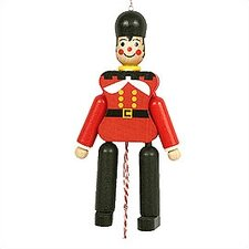 Wooden Toy Solider Jumping Jack Toy