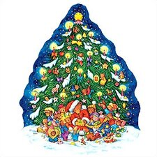 Extra Large Christmas Tree Advent Calendar