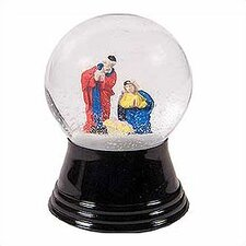 Small Holy Family Snow Globe