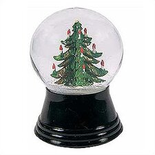 Small Christmas Tree Snow Globe