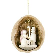 Nativity Nutshell Ornament