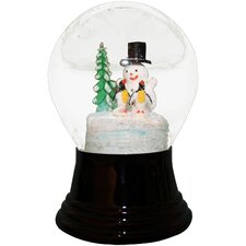 Snowman and Penguins Snowglobe