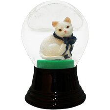 Cat Snowglobe