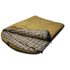 +0 Degree 2 Person Canvas Sleeping Bag