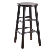 "Espresso 24"" Bar Stool (Set of 2)"