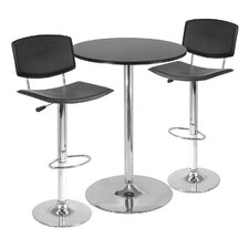 <strong>Winsome</strong> 3 Piece Pub Table Set