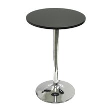 "20"" Round Bistro Table with Chrome Leg"