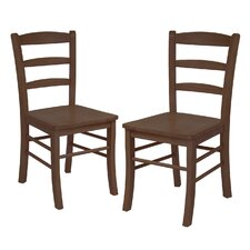 <strong>Winsome</strong> Basics Side Chair (Set of 2)