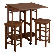 <strong>Winsome</strong> 3 Piece Dining Set