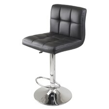 "<strong>Winsome</strong> Stockholm Airlift 23"" Adjustable Bar Stool"