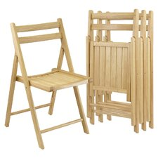 <strong>Winsome</strong> Folding Chair Set (Set of 4)