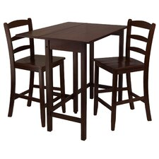 <strong>Winsome</strong> Lynnwood 3 Piece Pub Table Set