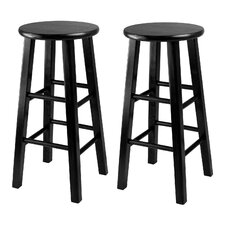 <strong>Winsome</strong> Square Leg Stool (Set of 2)