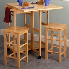<strong>Winsome</strong> Basics 3 Piece Dining Set