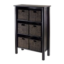 Liso 7 Piece Storage Shelf Set