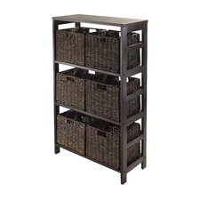 Granville 7 Piece Storage Shelf Set