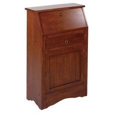 "<strong>Winsome</strong> Regalia 26"" W Secretary Desk"