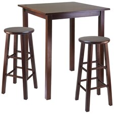 Parkland 3 Piece Counter Height Pub Table Set