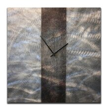 "<strong>Metal Art Studio</strong> 22"" Stripe Wall Clock"
