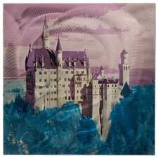 Neuschwanstein Castle Painting Print Plaque