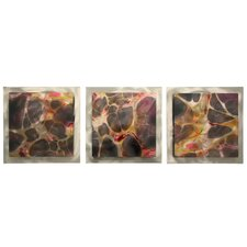 Nexus Essence 3 Piece Painting Print Plaque Set