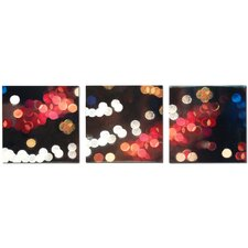 Luminescense Panels 3 Piece Graphic Art Plaque Set