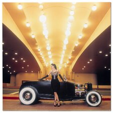 Casino Roadster by David Perry Photographic Print Plaque