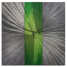 Stripe Metal Wall Clock