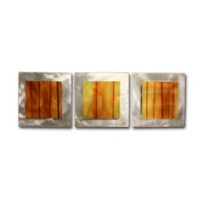 Essence Autumn 3 Piece Graphic Art Plaque Set