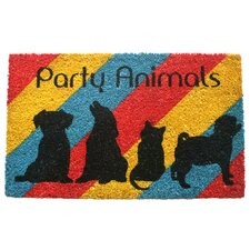 Sweet Home Party Animals Doormat