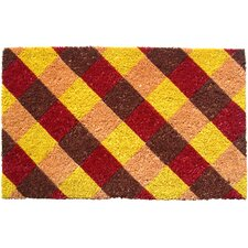 Sweet Home Almost Plaid Doormat