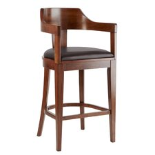 "Edmund 30"" Bar Stool with Cushion"