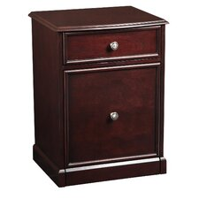 2-Drawer Mallory Rolling File Cabinet