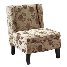 Damask Armless Chair