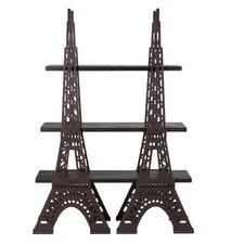 """Eiffel Tower 73"""" Shelf Bookcase"""