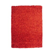 Bombay Luxe Shag Orange Burnt Rug
