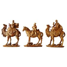 Wise Men Nutcracker (Set of 3)
