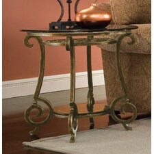 Zambrano Round End Table