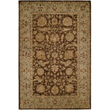 <strong>Wildon Home ®</strong> Brown / Light Blue Rug