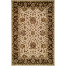 Empire Ivory / Brown Rug