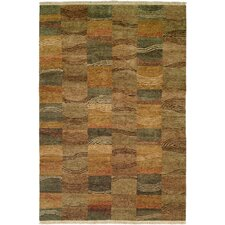 Multi Earth Tones Rug