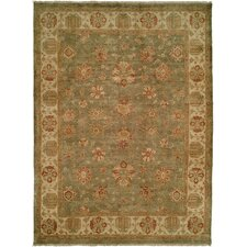<strong>Wildon Home ®</strong> Autumn Green / Ivory Rug
