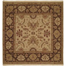<strong>Wildon Home ®</strong> Ivory / Brown Rug