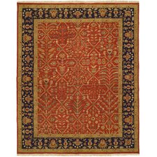 <strong>Wildon Home ®</strong> Rust / Black Rug