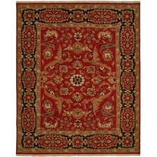 Soumak Red / Black Rug