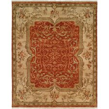 <strong>Wildon Home ®</strong> Rust / Ivory Rug